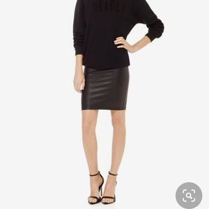 Wilfred Free Leather skirt (size small)